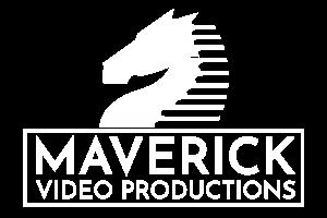 Maverick Video Productions Logo - White